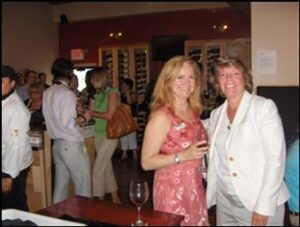 Wine on Third Networking Event